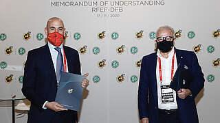 DFB und Spanischer Fußball-Verband unterzeichnen MoU