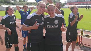 SV Weinberg: Die Schwestern Grimm hoffen aufs Pokalmärchen