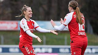 Freiburg als erstes Team im Viertelfinale