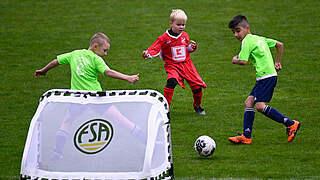 Riesige Nachfrage bei Online-Session zum Kinderfußball