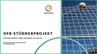 Kick-off zum Stürmer*innen-Programm