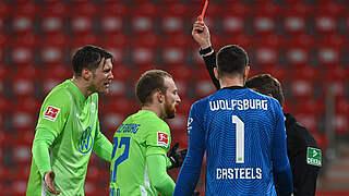 Ein Spiel Sperre für Wolfsburgs Arnold