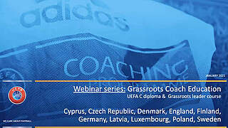 UEFA-Seminar zur Trainer-C-Lizenz