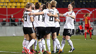 Spielfreudige DFB-Frauen schlagen Belgien