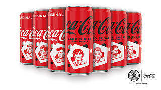 Limitierte Spielerdosen: Coca-Cola läutet die EURO ein