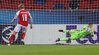 Dahmen ist Spieler des Dänemark-Spiels