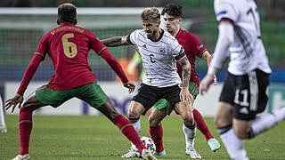 Niklas Dorsch ist Spieler des EM-Finales