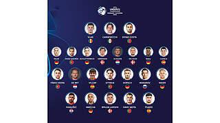 Sechs Deutsche im Kader der U 21-EM