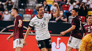 Müller macht's erneut: Spieler des Spiels gegen Lettland