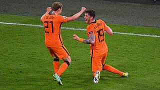 3:2! Niederlande mit spätem Siegtreffer