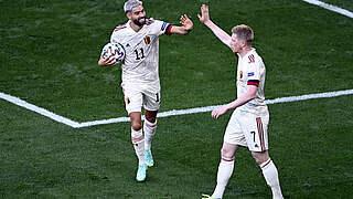 Belgien dreht Spiel gegen Dänemark