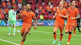 Niederlande ziehen als Gruppensieger ins Achtelfinale ein