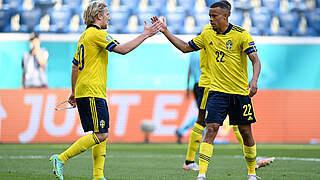 Emil Forsberg schießt Schweden zum Sieg