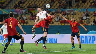 Polen punktet gegen Spanien