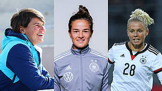 Trainer*innen-Teams der Juniorinnen: Hingst, Lotzen und Simic neu