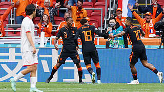 Oranje bezwingt auch Nordmazedonien