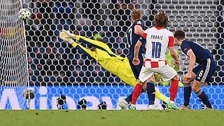 Modric-Traumtor: Kroatien folgt England und Tschechien ins Achtelfinale