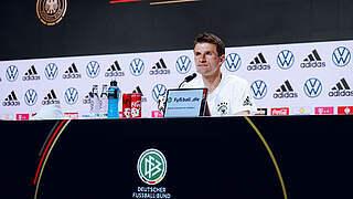 Müller: Sehr guteErfahrungen mitWembley