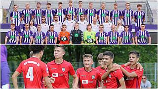 U 17-Bundesliga: Aue und Reutlingen erstmals erstklassig