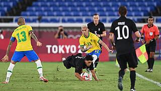Niederlage zum Olympiaauftakt gegen Brasilien