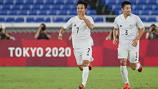 Olympia: Japan im Viertelfinale - Frankreich scheidet aus