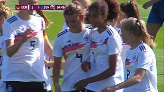 EM-Quali: U 19 gewinnt 6:1 gegen Slowenien