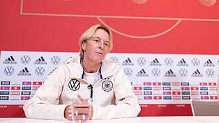 Voss-Tecklenburg: Werden eine torhungrige Mannschaft sehen