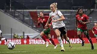 Schüller ist Spielerin des Bulgarien-Spiels