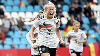 Maschine: Es schüllert bei DFB-Frauen