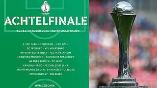 Achtelfinale: FC Bayern empfängt Frankfurt