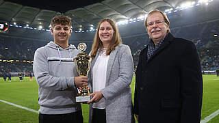Amateure des Jahres beim Länderspiel: Sehr stolz