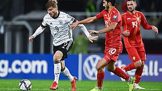 Timo Werner ist Spieler des Nordmazedonien-Spiels