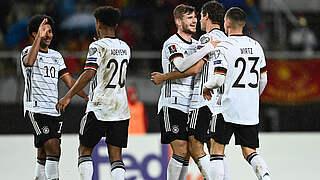 DFB-Auswahl bucht in Nordmazedonien das WM-Ticket