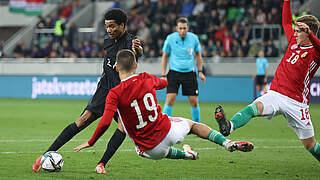 5:1 in Ungarn: U 21 bleibt ohne Punktverlust