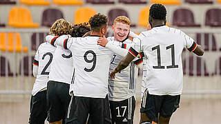 U 19 gewinnt Vier-Nationen-Turnier