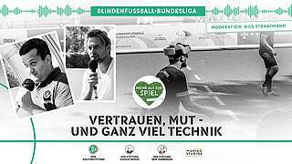 Mehr als ein Spiel – Live in der Blindenfußball-Bundesliga