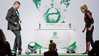 U 16-Nationalspielerin Schimmer: Doppelpass mit dem DFB-Präsidenten