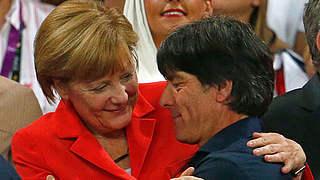 Merkel gratuliert zum Halbfinaleinzug