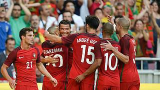 Portugal bei EM-Generalprobe in Torlaune