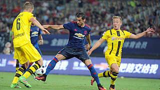 BVB besiegt Manchester United bei Wiedersehen mit Mchitarjan
