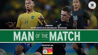 Ginter ist Spieler des Brasilien-Spiels