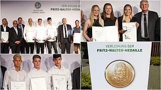 Video: Ehegötz, Henrichs und Itter erhalten Fritz-Walter-Medaille