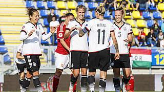 1:0 in Ungarn: DFB-Frauen schaffen die perfekte EM-Qualifikation