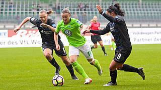 Dritter Sieg in Folge: VfL Wolfsburg übernimmt Spitze