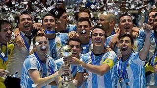 Argentinien ist erstmals Weltmeister