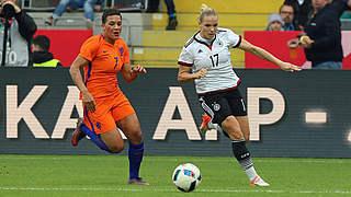 Kerschowski ist Spielerin des Holland-Spiels