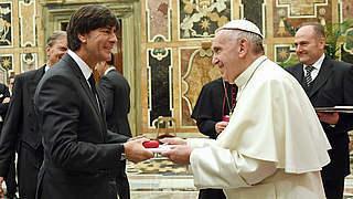 Löw: Der Papst hat jeden von uns erreicht