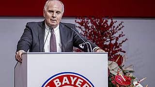 Bayern: Hoeneß wieder als Präsident gewählt
