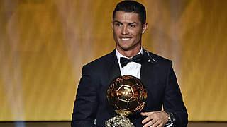Ballon d'Or für Cristiano Ronaldo