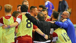 Futsal-Länderpokal: Quartett an der Spitze